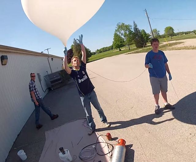 mkme.org High Altitude balloon