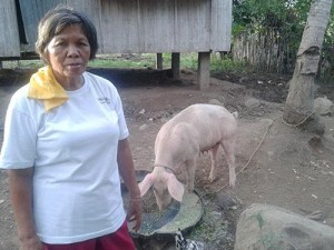 Mkme.org invested in Visitacion a Phillipe Pig farmer